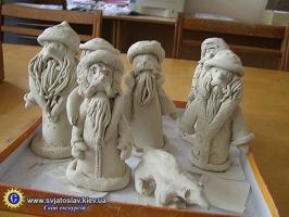 Мастер-класс лепки из глины
